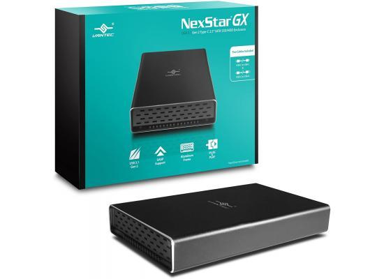 """Vantec NexStar GX USB 3.1 Gen 2 Type-C 2.5 """"SATA SSD / HDD Enclosure"""