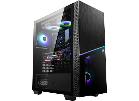 MSI MPG SEKIRA 100R Tempered Glass Mid-Tower Gaming PC Case