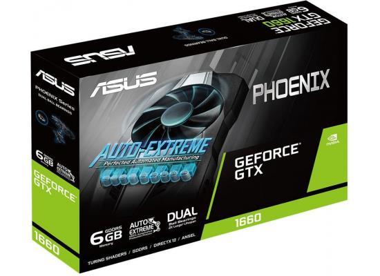 ASUS GeForce GTX 1660 6GB Phoenix Fan Edition Graphics Card
