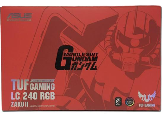 ASUS TUF Gaming LC 240 ZAKU II EDITION Aura Sync AIO Liquid Cooler