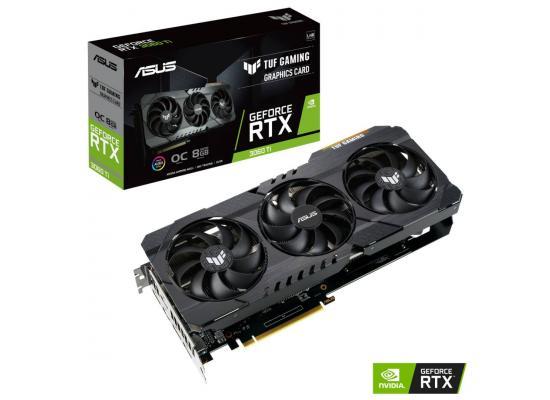 ASUS TUF Gaming GeForce RTX 3060 V2 12GB GDDR6 OC Edition
