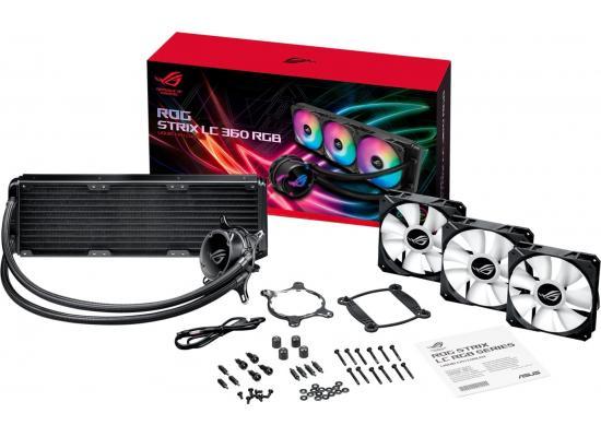 ASUS ROG STRIX LC 360mm RGB AIO CPU Water Cooler