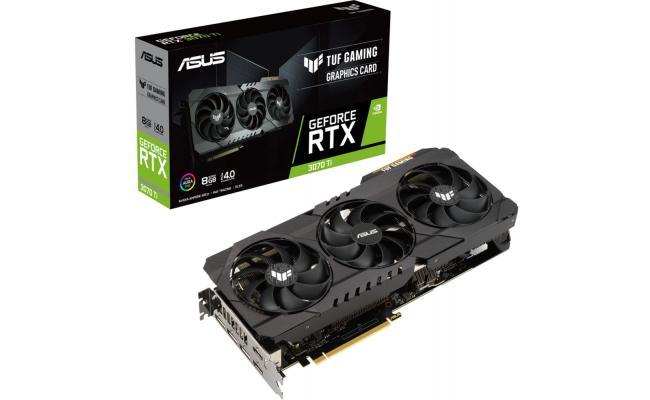 ASUS TUF Gaming GeForce RTX 3070 TI 8GB GDDR6X Graphic Card