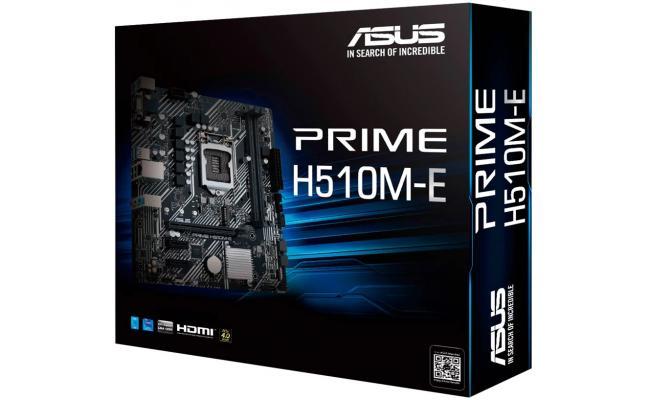 ASUS PRIME H510M-E Intel H510 M.2 Micro ATX Motherboard