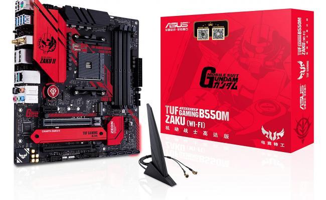 ASUS TUF GAMING B550M-ZAKU (WI-FI) AMD B550 Micro ATX Motherboard