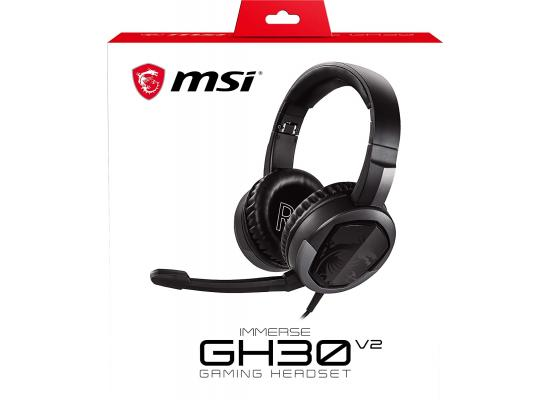 MSI Immerse GH30 V2 Detachable Microphone Lightweight & Foldable 7.1 Surround