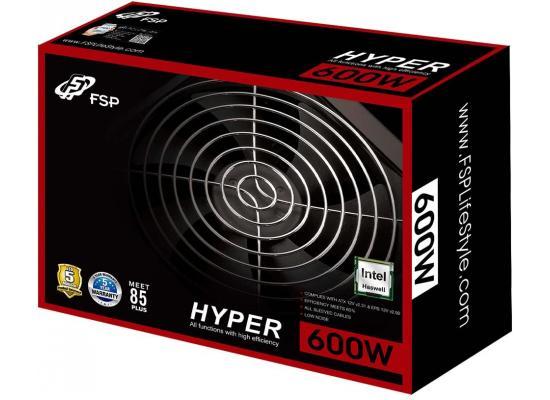 FSP HYBER S HP600S 600W 80+ ATX Power Supply Black