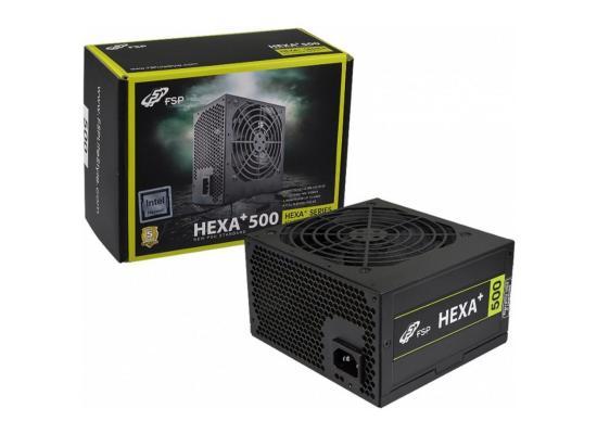 FSP HEXA+ H2-500 500W 80+  ATX Power Supply Black