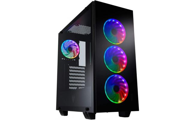 FSP CMT510 Plus Tempered Glass & 4 ARGB Fans Gaming Case