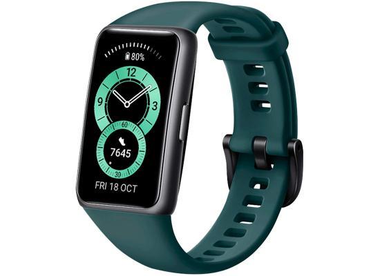 HUAWEI Band 6 Fitness Tracker Smartwatch 2 Weeks Battery Waterproof - Green