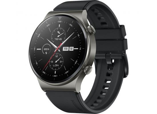 HUAWEI GT 2 Pro Bluetooth SmartWatch 2-Weeks Battery Life - Night Black