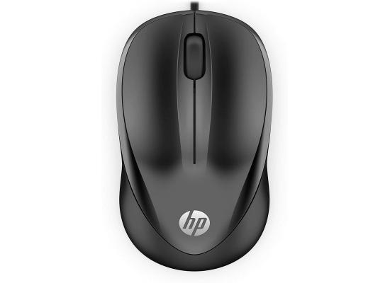 HP 1000 Wired Optical Mouse USB (4QM14AA) - Black