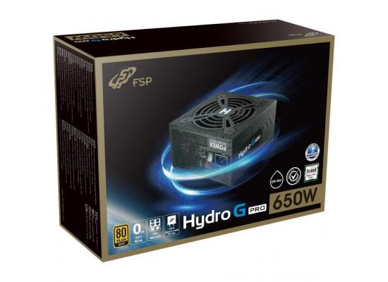 FSP HYDRO G PRO HG2-650 650W 80+ Gold ATX Power Supply Black