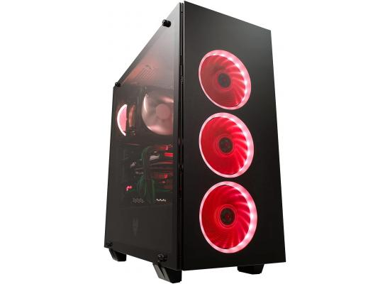 FSP CMT510 Tempered Glass & 4 RGB Fans Gaming Case