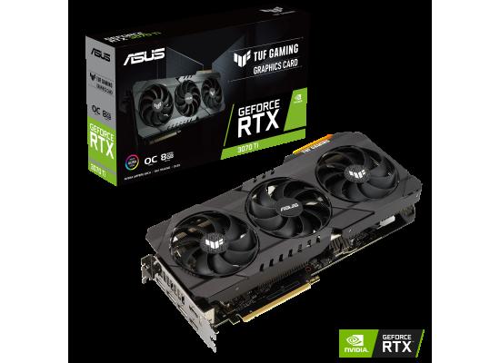 ASUS TUF Gaming GeForce RTX 3070 TI 8GB GDDR6X OC Edition
