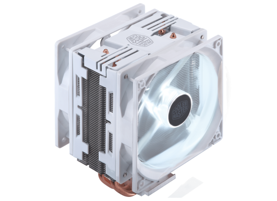 Cooler Master Hyper 212 LED Turbo CPU Cooler - White Edition