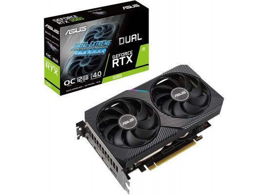 ASUS Dual GeForce RTX 3060 V2 OC Edition 12GB GDDR6