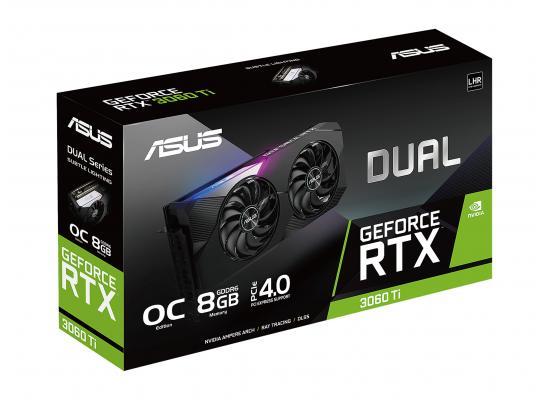ASUS Dual GeForce RTX 3060 Ti V2 8GB GDDR6 OC Edition Graphic Card