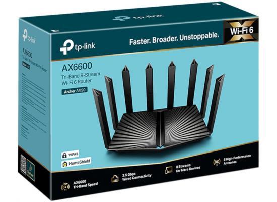 TP-Link Archer AX90 WiFi 6 AX6600 Smart WiFi Router Gigabit Tri-Band