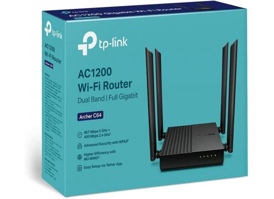 TP-Link AC1200 Dual-Band Gigabit Wi-Fi Router Speed up to 1200 Mbps
