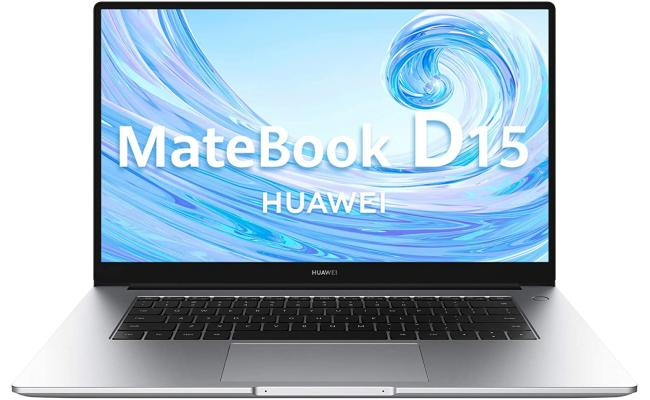 HUAWEI MateBook D15 10Gen Core i3 SSD & Windows 10 Metal - Grey