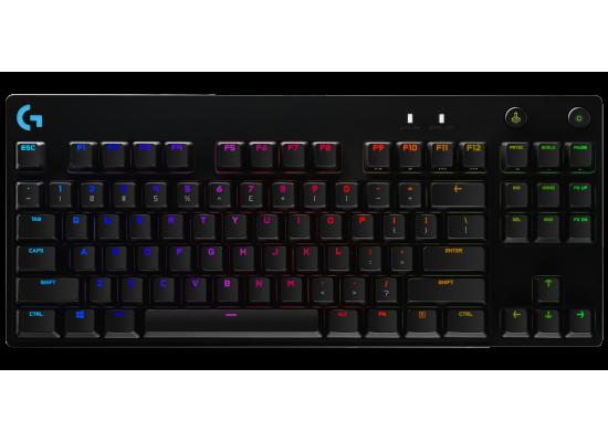 Logitech G Pro Mechanical Gaming Keyboard Backlit Keys Romer-G Clicky