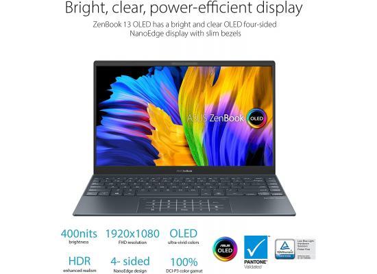 Asus ZenBook 13 OLED UX325EA NEW 11Gen Intel Core i7 Ultra-Slim - Grey