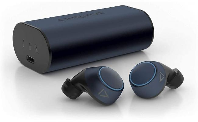 Creative Outlier Air V2 True Wireless SweatProof Bluetooth 5.0 up to 34 hrs Battery Life