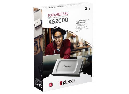 Kingston XS2000 2TB High Performance Pocket-Sized External SSD USB C