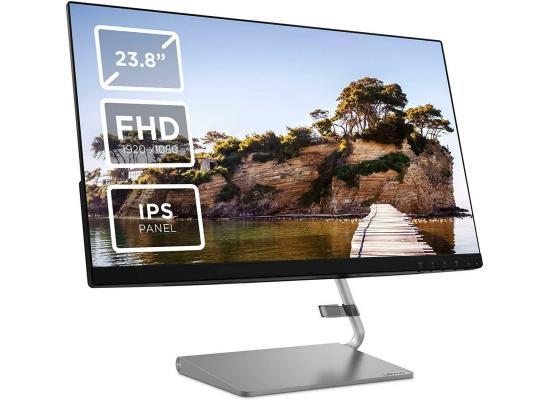 "Lenovo Q24i 24"" Full HD IPS 75 Hz FreeSync w/ Speakers , 3 Years Warranty"