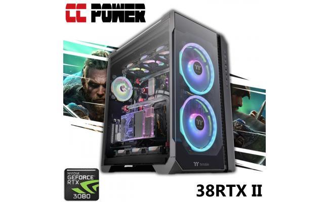 CC Power 38RTX II Gaming PC 10Gen Core i7 K-Series w/ RTX 3080 Liquid Cooled