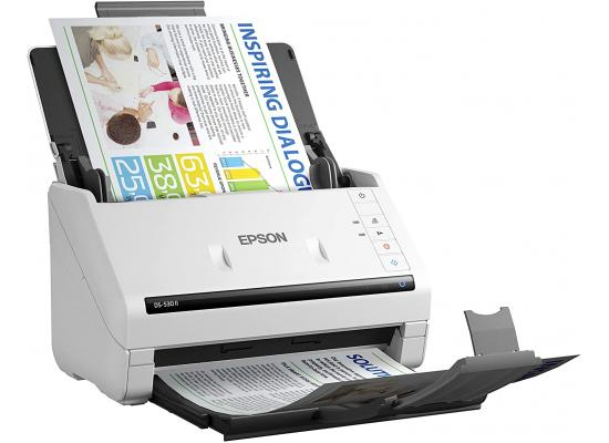 Epson DS-530 II Color Duplex Document Scanner w/ ADF up to 35 ppm