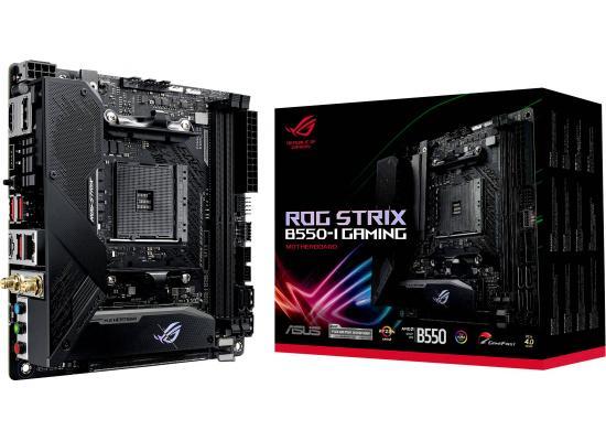 ASUS ROG Strix B550-I Gaming Mini-ITX WiFi 6 Addressable Gen 2 RGB & Aura Sync