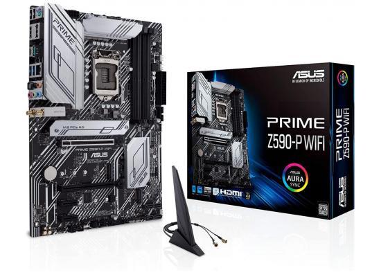 ASUS PRIME Z590-P WIFI Intel Z590 ATX Intel Motherboard Aura Sync RGB