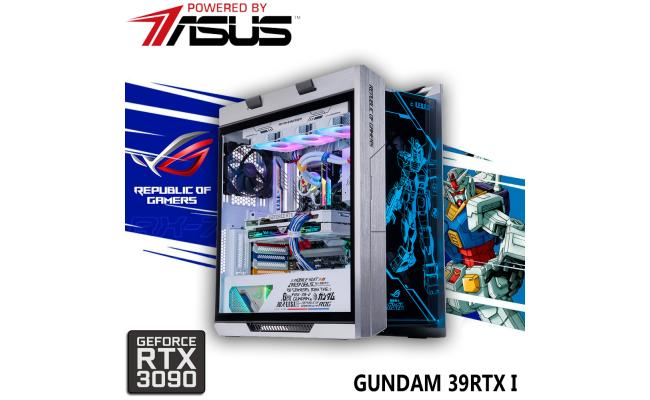 Gundam Limited Edition Gaming PC 11Gen Intel Core i9 w/ RTX 3090 Liquid Cooled