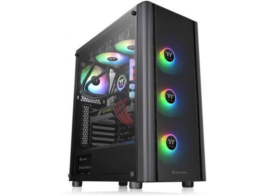 Thermaltake V250 TG ARGB Tempered Glass Mid-Tower ATX Case - Black
