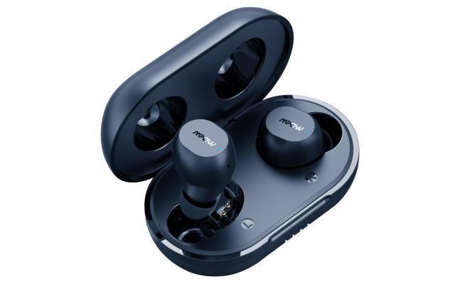 Mpow M12 Earbuds Wireless & USB-C Charging w/Dual Mic 25 Hours , Blue
