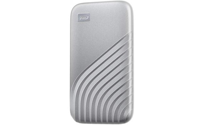 My Passport SSD 1TB Portable SSD USB 3.2 Up to 1050MB/s Silver