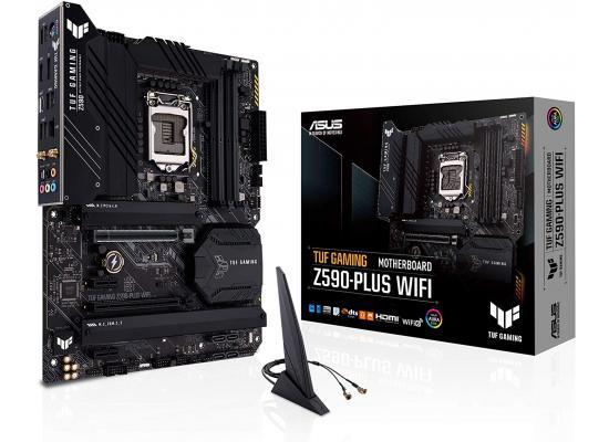 ASUS TUF GAMING Z590-PLUS WIFI 6 Intel Z590 ATX Intel Motherboard