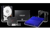 Internal / External HDDs