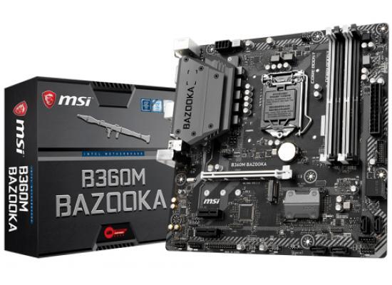 MSI B360M BAZOOKA Intel B360 DDR4/ M.2 MicroATX