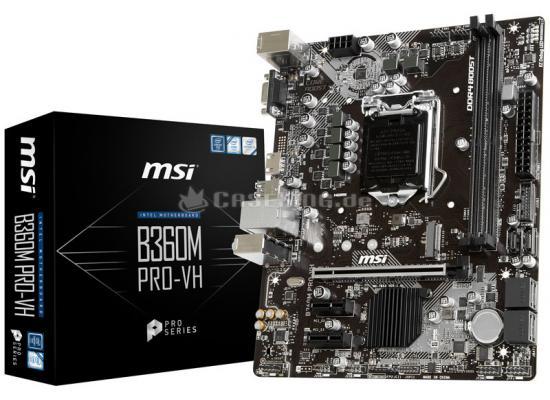 MSI B360M PRO-VH  Intel B360 DDR4/ M.2 MicroATX
