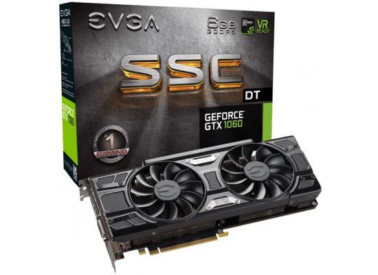 EVGA NVIDIA GeForce GTX 1060 SSC DT 6GB GDDR5