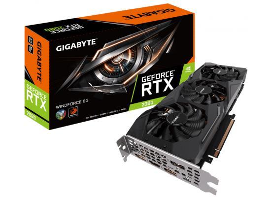 GIGABYTE NVIDIA GeForce RTX 2080 WINDFORCE 8G GDDR6