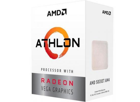 AMD Athlon 200GE 2-Core, 4-Thread, 3.2 GHz Base, AM4