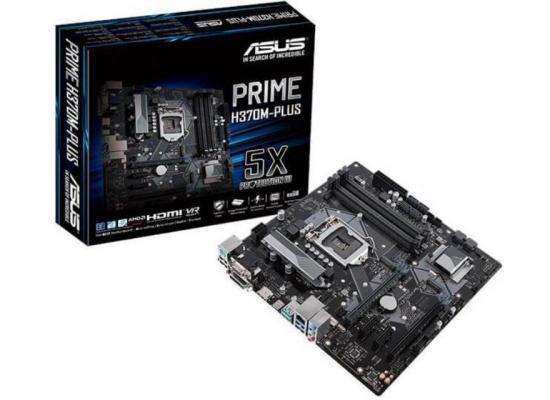 Asus PRIME H370M-PLUS Intel H370 MicroATX Motherboard