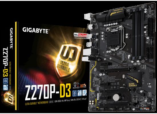 GIGABYTE GA-Z270P-D3 Intel Z270 DDR4/ M.2/ ATX