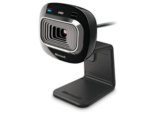 Microsoft LifeCam HD-3000 Internet Web Cam USB