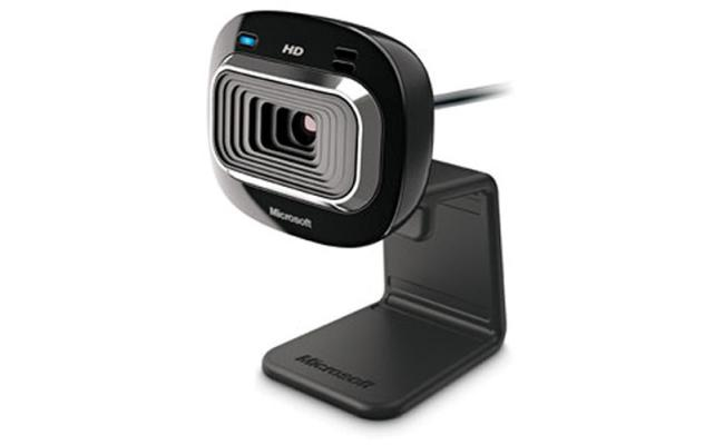 Microsoft LifeCam HD-3000 Internet Web Cam USB