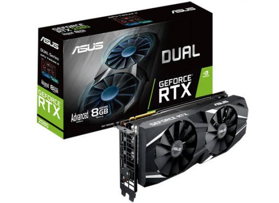 ASUS NVIDIA RTX 2080 8GB GDDR6 DUAL Advanced